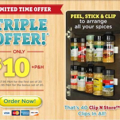 Clip N Store Reviews: Hoard More Seasonings, Emancipate Your Shelves