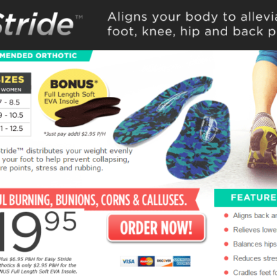 Easy Stride Reviews: Align Your Lower Body & Your Lifestyle