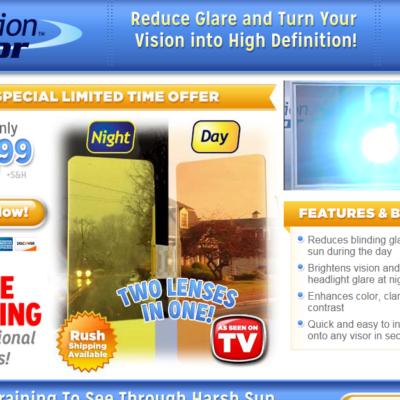 HD Vision Visor Reviews: Blocks Glare, Opens Line Of Vision