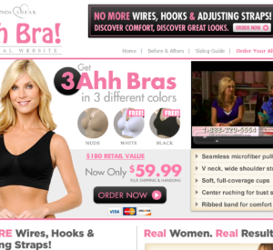 Rhonda Shear Ahh Bra Reviews: Free Youself