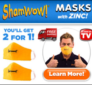 ShamWow Mask Review: Zinc Facemask