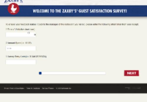 www.MyZaxbysVisit.com: Take the MyZaxbysVisit Survey