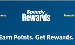 Register for SpeedWay Rewards @ www.speedyrewards.com