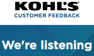 Take The Kohls Feedback Survey @ www.kohlsfeedback.com