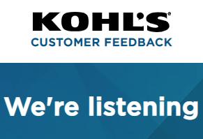 Kohl's feedback