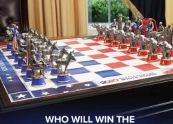 2020 Battle for The White House Election Chess SetReview