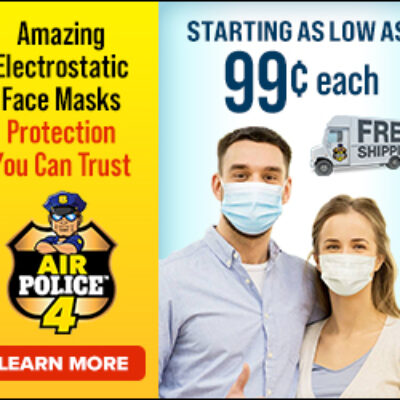 Air Police 4 Mask Review: Protective Facemask