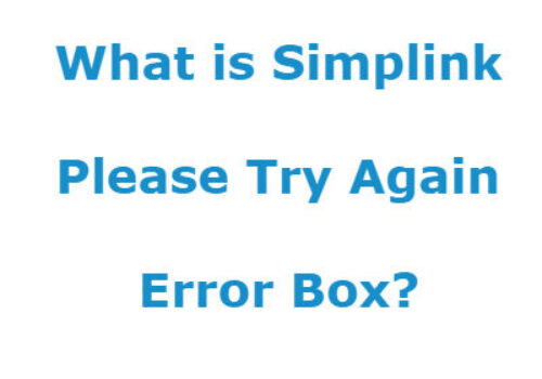 What is the LG TV Simplink Error Please Try Again Box