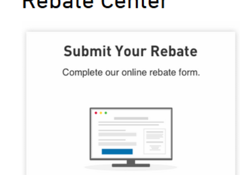 Lowes Rebate Center Savings: www.Lowes.com/Rebates