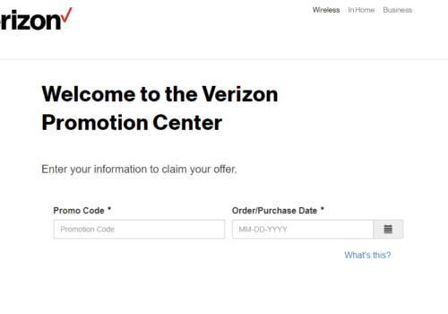 Save Money with a Verizon Rebate: VZW.com/DigitalRebateCenter